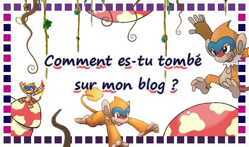 Création à thème : Comment es tu tombé sur mon blog