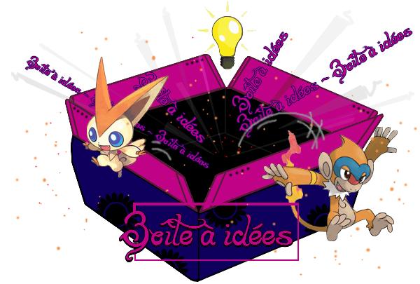 Création à thème : Boîte a idées