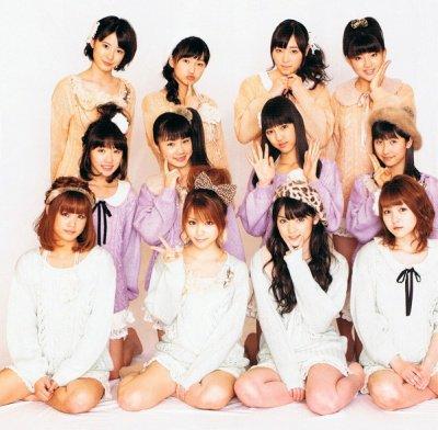 Les Morning Musume ( avec leurs nouvelles membres)