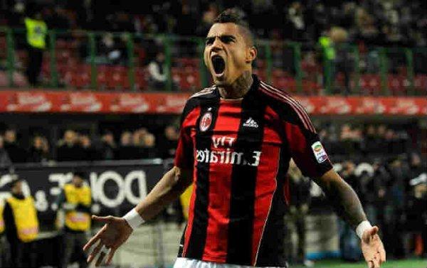 Boateng Cetak Gol Dalam Comeback Bersama Milan