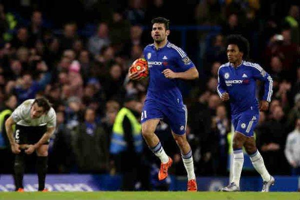 David Luiz Rekomendasikan Diego Costa Gabung PSG