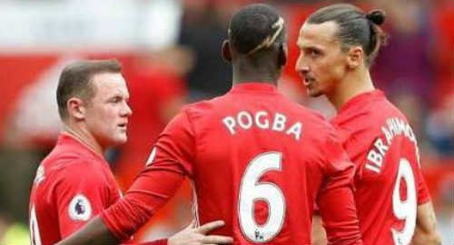 Kebbangkitan Trio Rooney, Ibrahimovic dan Pogba  (R.I.P)