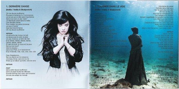 """PAROLES DES TITRES DE L'ALBUM """"MINI WORLD"""" INDILA"""