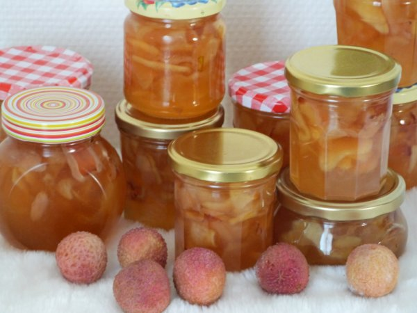 Confiture de litchis