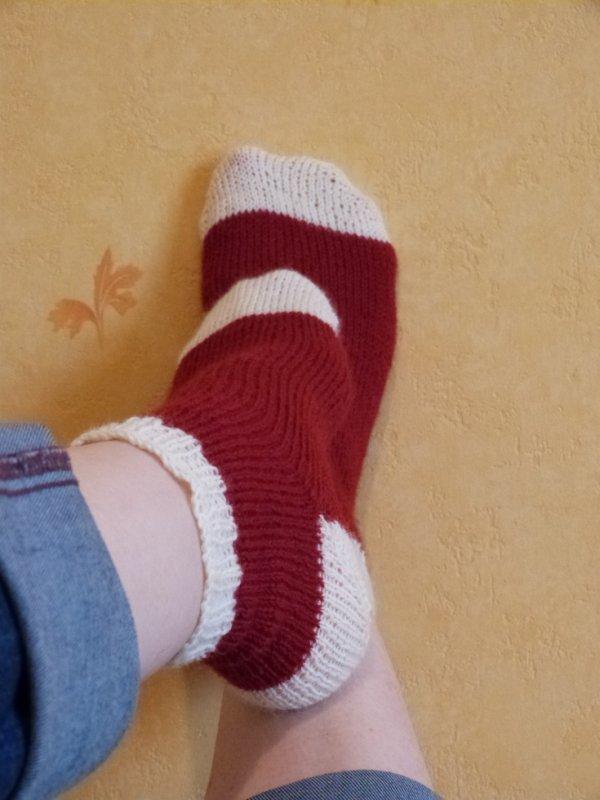 Mes chaussettes.