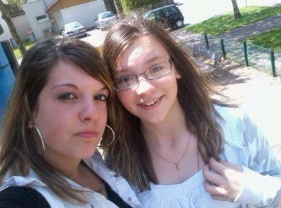 voila ma niéce wendy et ma fille tiffany