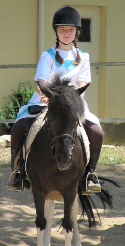Ma deuxième année d'équitation (à shetland) !!