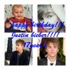 HAPPY BIRTHDAY JUSTIN BIEBER!!!!!!!!!! <3<3