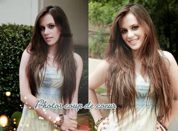 PHOTOS ---- J'ai eu un coup de coeur sur ces deux magnifiques photos, je trouve Caitlin superbe dessus. VosAvis ?