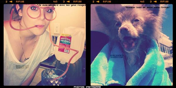 NEWS --- Caitlin a réçament , mis ces deux photos sur son compte instagram, j'ai également mis des vidéo que j'aimais bien.