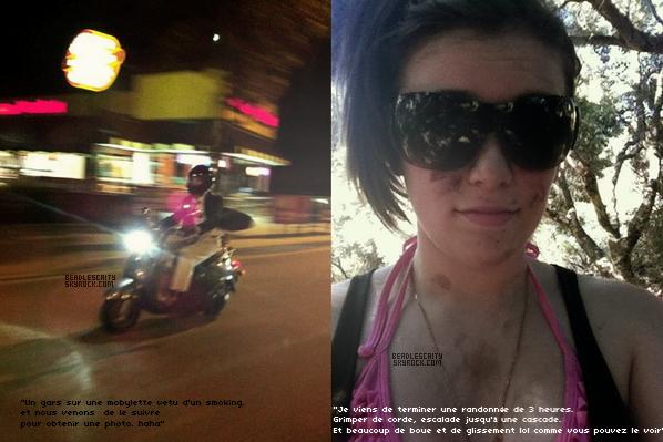 TWITTERTIME --- Deux nouvelles photos, sont apparus sur le twitter de Caitlin. Je vous ais mis la traduction de ces tweets.