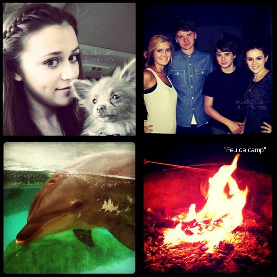 PHOTOS INSTAGRAM --- Caitlin a publier ces quatre belles photos sur son compte instagram. Caitlin a enfin rencontré Conor Maynard elle en a beaucoup parlé de Conor, comme quoi il avait une belle voix et qu'y il lui faisais fondre son coeur.(dans ces anciens tweets)