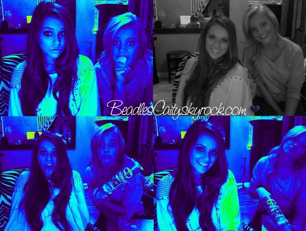 NEWS --- Pleins de belles photos de Caitlin et Payton (sa meilleure amie) sont apparus sur le net. Caitlin a retrouvé ces meilleures amies dont une qui s'appelle Chloé. Cait est magnifique,Çase voit que la miss a bronzé.