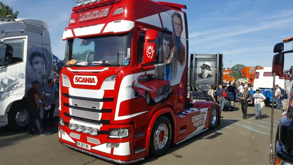 "SCANIA S500 LAURATRANS ""STARSKY ET HUTCH"""
