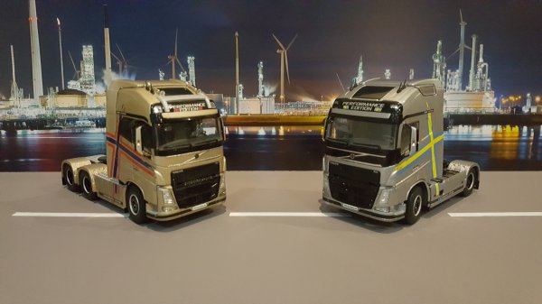 "VOLVO FH4 PERFORMANCE EDITION ""SUEDE"""
