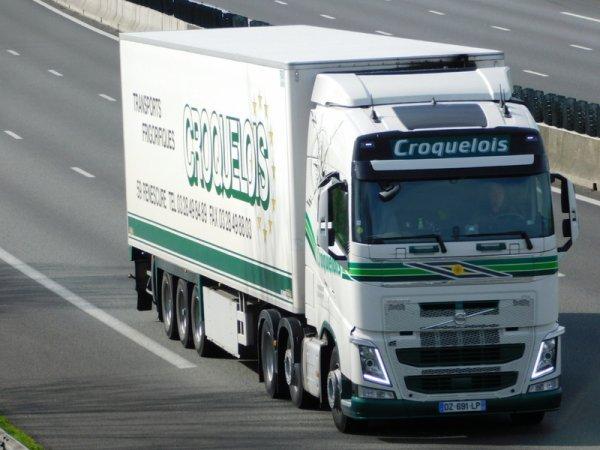 VOLVO FH4  TRANSPORTS CROQUELOIS