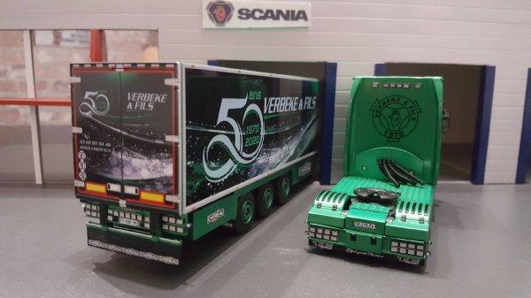 SCANIA S650 FRIGO CHEREAU TRANSPORTS VERBEKE