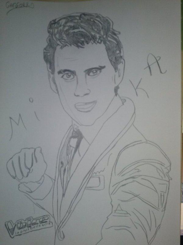 """Voici le Chanteur """" Mika """" :-)"""