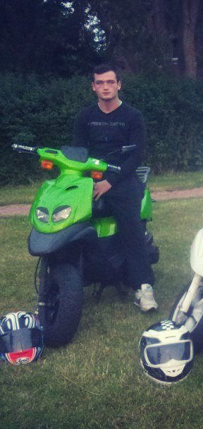 Moi et mon scooter ;)