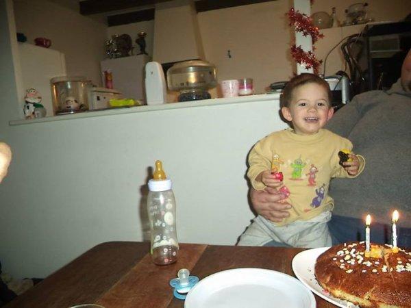 2 ans de mon fils EVAN !!!!