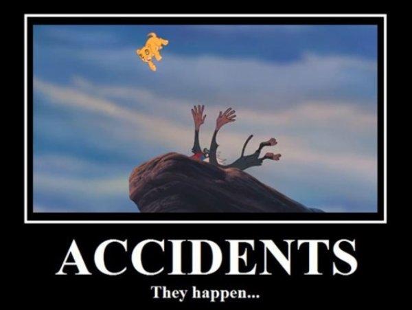 ça arrive a tous le monde les accidents! ;)