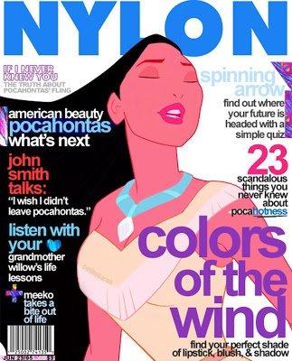 Pocahontas dans Nylon