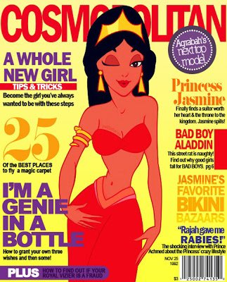 Jasmine dans le cosmopolitan
