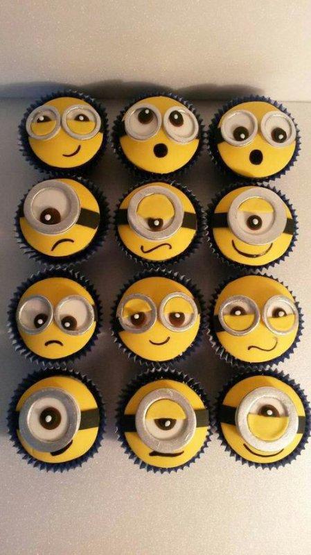 Miam, des gâteaux minions