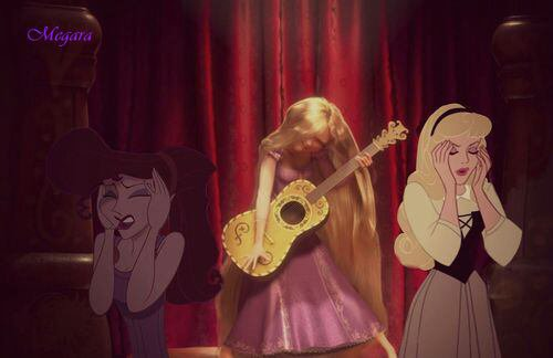 La musique de Raiponce ne plait pas a tout le monde :)