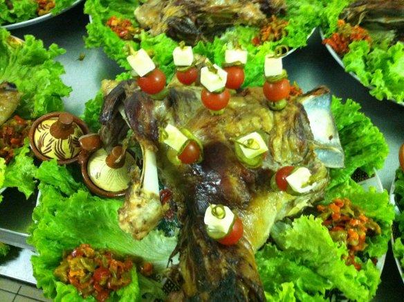 menu traiteur salade compose mchoui et accompagnements - Mechoui Mariage