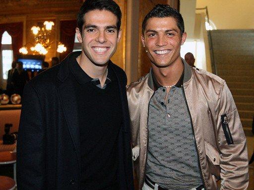 Kaka et Cristiano