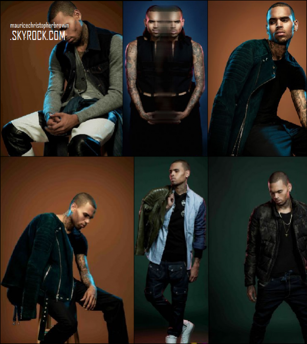 Nouveau Photoshoot de Chris Brown