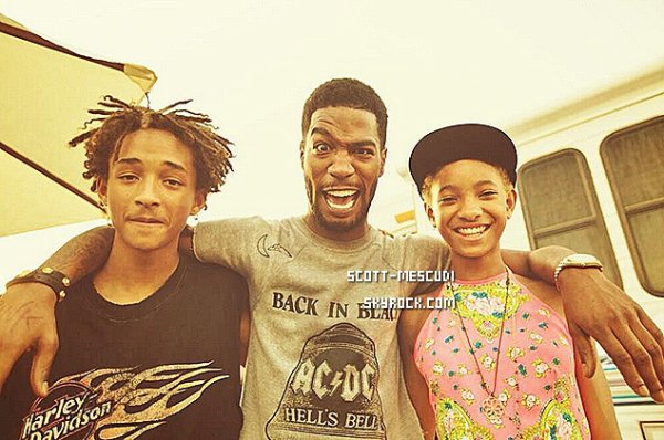 Kid Cudi et les Smith.