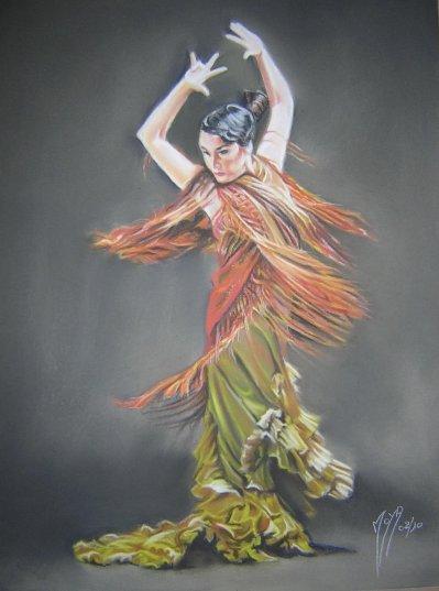 Peinture Pastel Sec Sur Pastelcard - Bmw S 1000 Xr