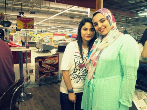 ı met an egyptıan girl todayyy :)