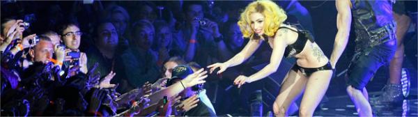 """The Monster Ball Tour"" Londres 16/12/10."