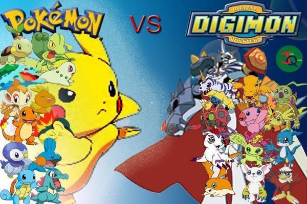 Digimon VS Pokémon
