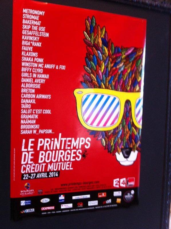 Festival Le Printemps De Bourges 2014