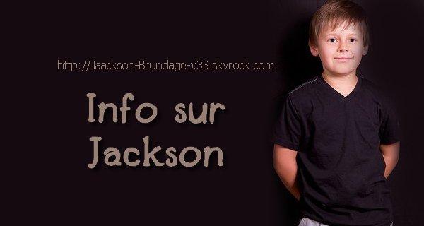 Info sur le beau et talentueux Jackson Brundage