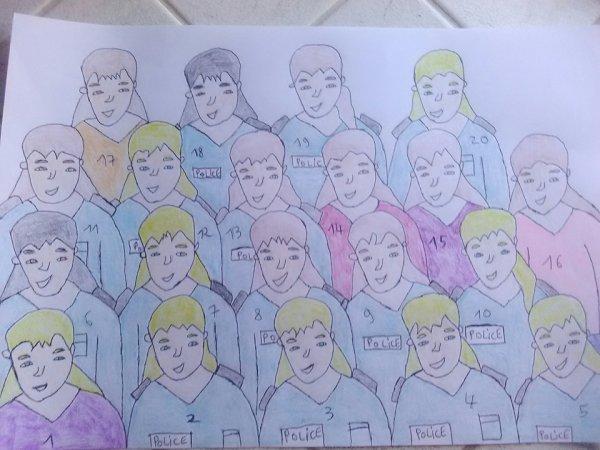 Les personnages de l'équipe BBR en 2018  (71 membres)