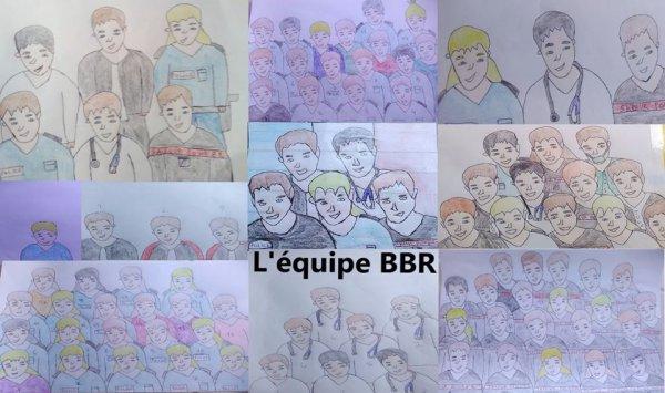 L'équipe BBR (L'équipe Bleu Blanc Rouge / chanson écrite par Marjo)