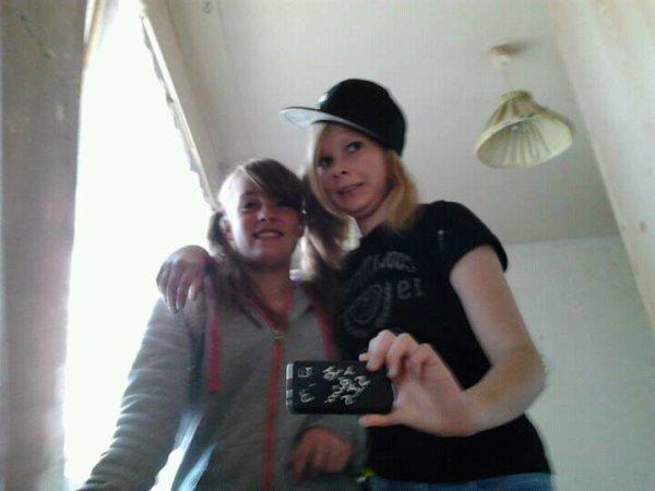 Ma cherie (Axelle ) et moi