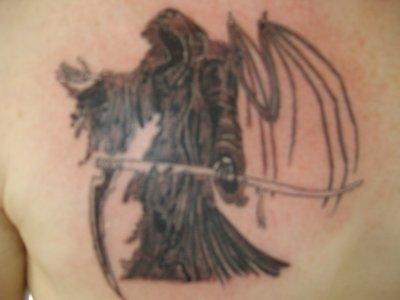 Faucheuse tattoo lou - Tatouage la faucheuse ...