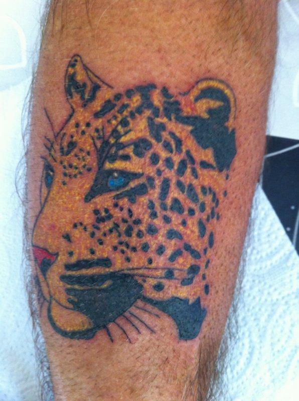 tete de leopard