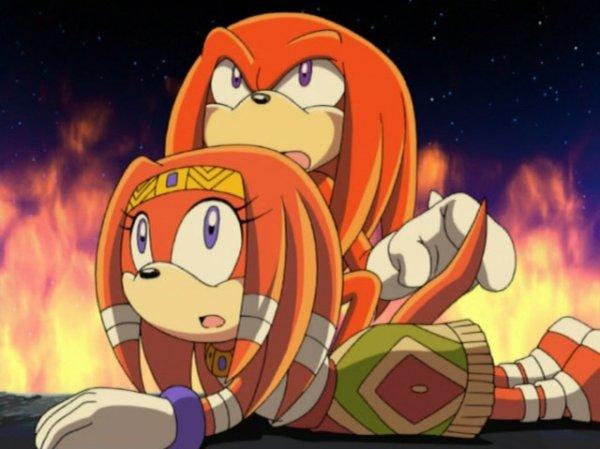 Knuckles et Tikal