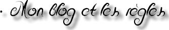 • Bienvenue sur mon blog !