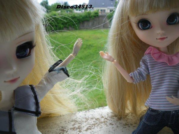 Violette avait la wig de Cerise !