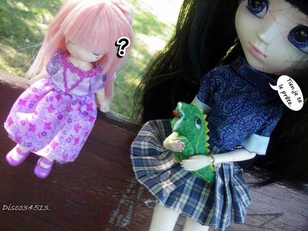 Violette ♥ et Evangeline.