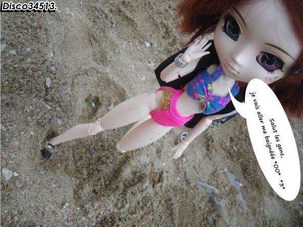 Fausse plage avec Marion xDD.