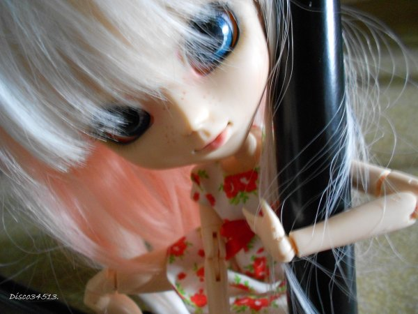 Alice - Pullip romantic Alice pink (suite & fin)